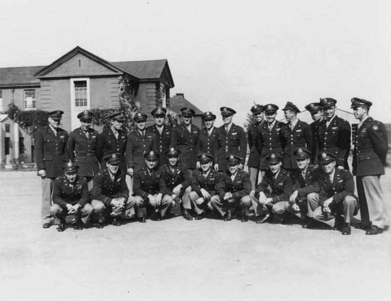 Group shot of 84th Fighter Squadron, 78th Fighter Group, pilots at Duxford. Summer 1944.    Was Harry T Lay (Pilot) in this Squadron, he was shot down July 17, 1944 .  He was my first cousin.  His mother Weta Rabb Lay was my Aunt.  Bettye Rabb VanderVeen