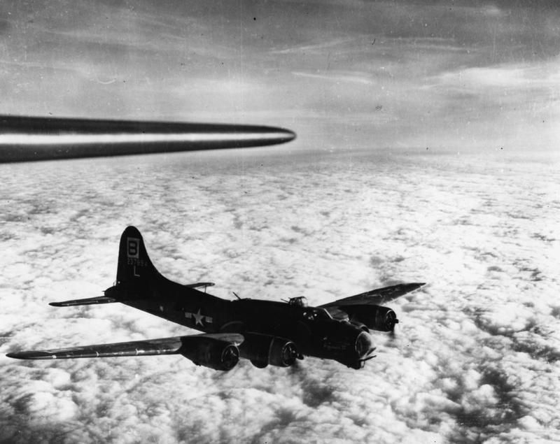 A B-17 Flying Fortress (serial number 42-37894) nicknamed