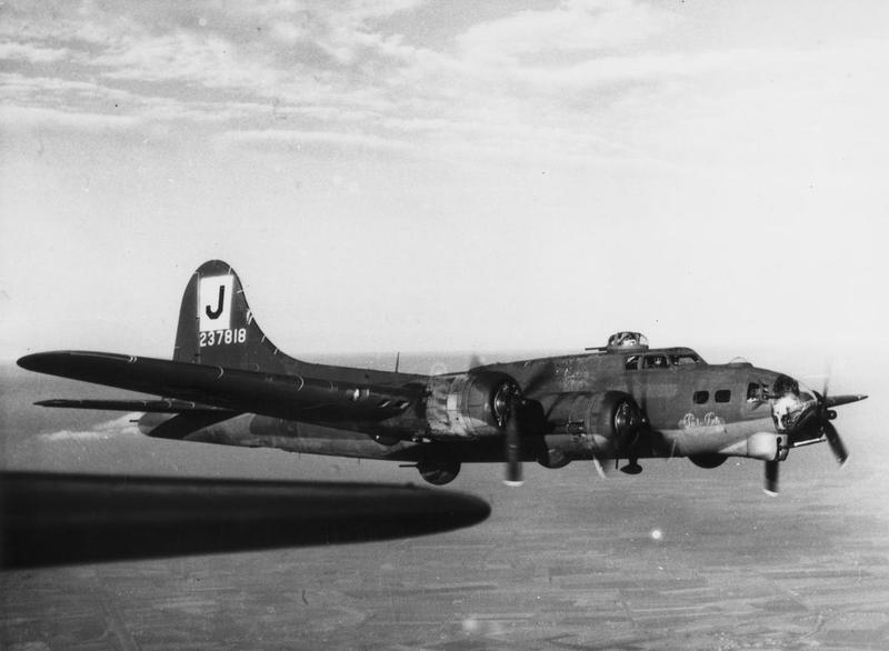 The B-17 Flying Fortress  - Serial Number - #42-37818 -  Named,