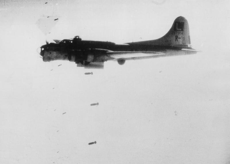 A B-17 Flying Fortress (serial number 42-97904) nicknamed
