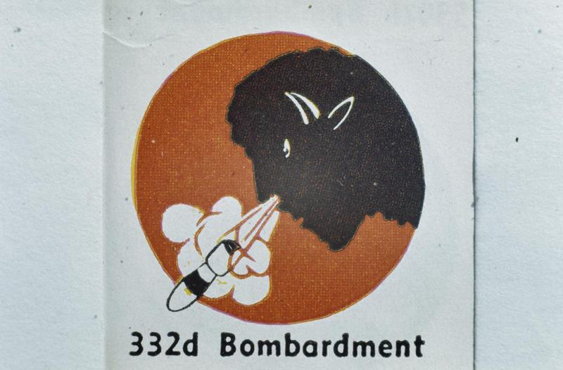 The insignia of the 332nd Bomb Squadron, 94th Bomb Group.