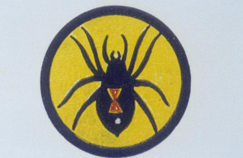 The insignia of the 4th Bomb Squadron, 34th Bomb Group.