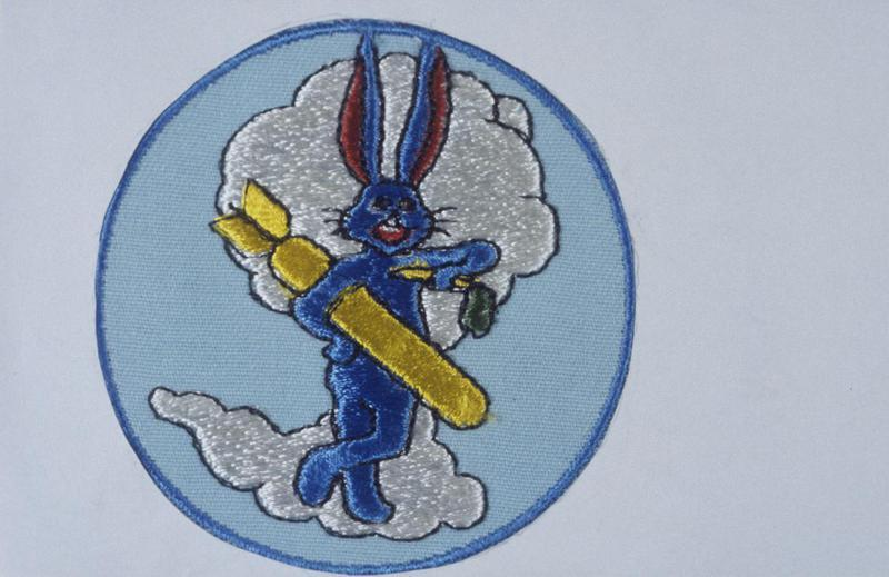 The insignia of the 324th Bomb Squadron, 91st Bomb Group.
