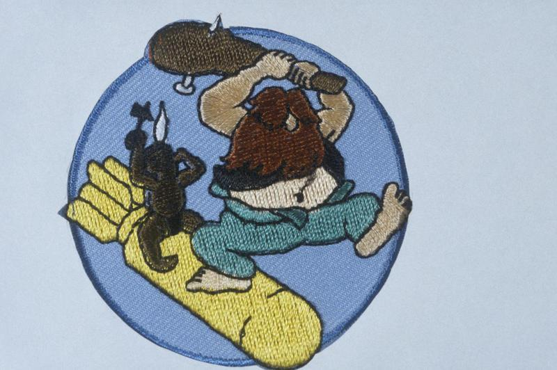 The insignia of the 401st Bomb Squadron, 91st Bomb Group.