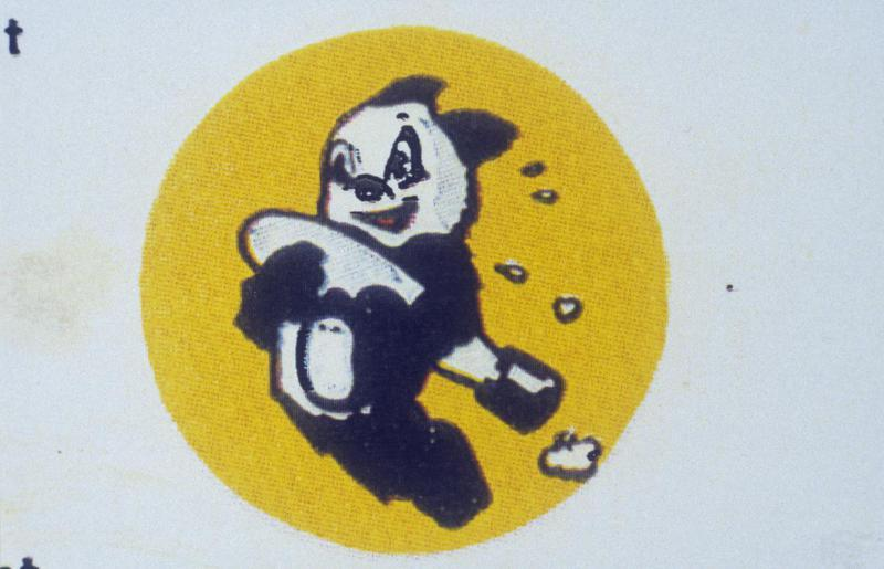 The insignia of the 409th Bomb Squadron, 93rd Bomb Group.