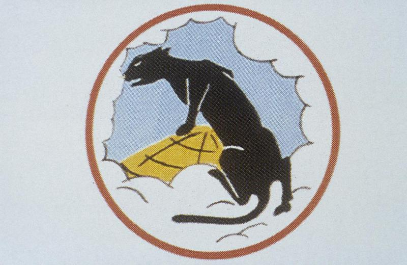 The insignia of the 331st Bomb Squadron, 94th Bomb Group.