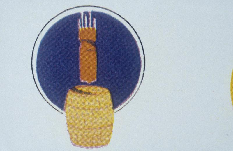 The insignia of the 338th Bomb Squadron, 96th Bomb Group.