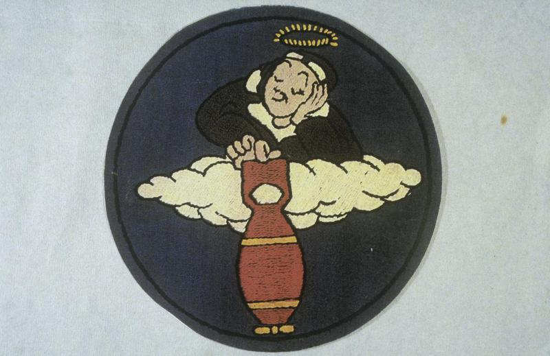 Insignia associated with the 358th Bomb Squadron, 303rd Bomb Group of the 8th Air Force.