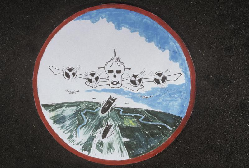 The insignia of the 365th Bomb Squadron, 305th Bomb Group.