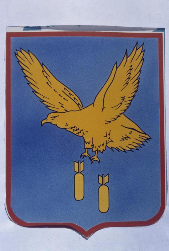 The insignia of the 351st Bomb Group.