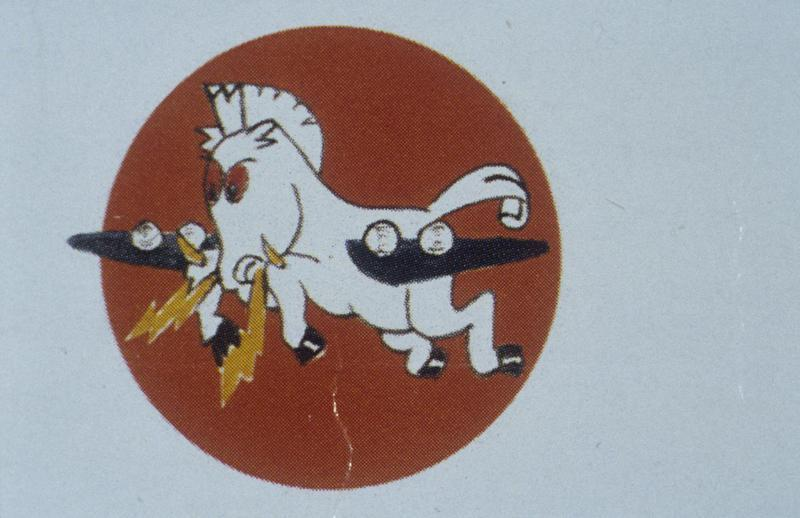 The insignia of the 532nd Bomb Squadron, 381st Bomb Group.