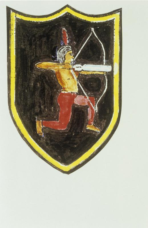 The insignia of the 545th Bomb Squadron, 384th Bomb Group.