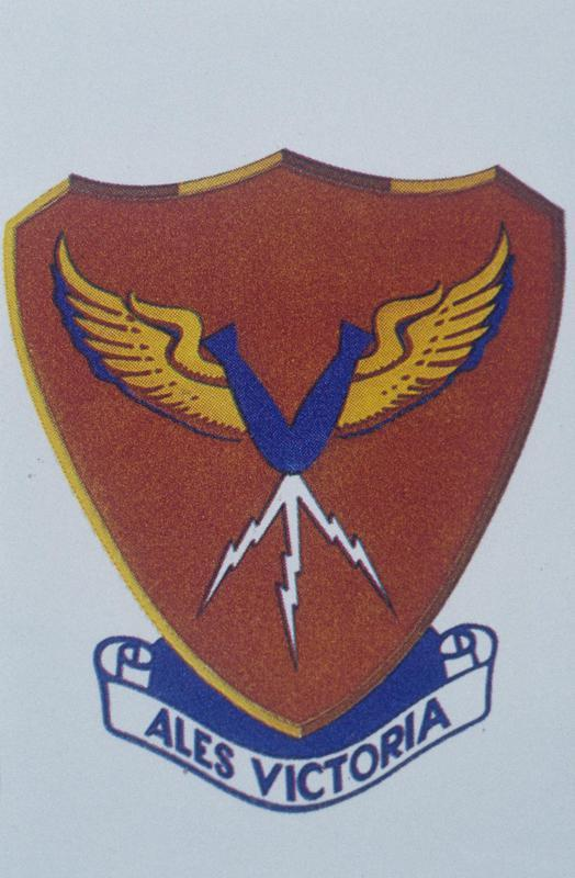 The insignia of the 385th Bomb Group.