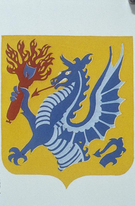 The insignia of the 389th Bomb Group.