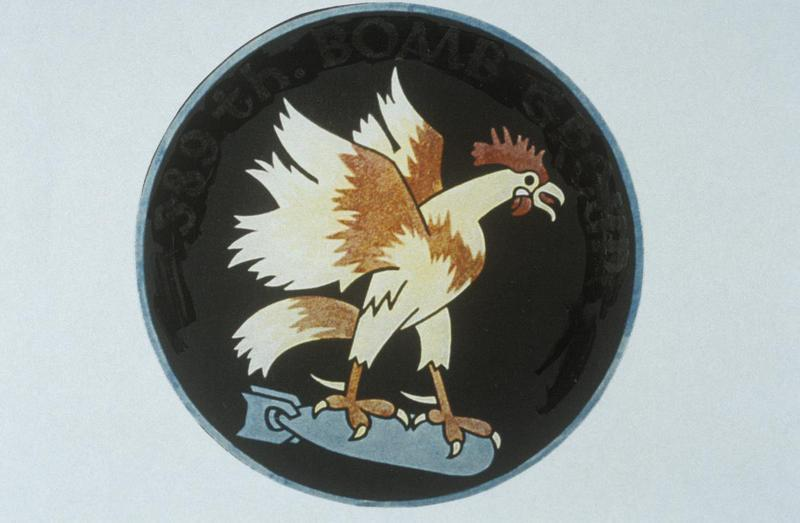 The insignia of the 564th Bomb Squadron, 389th Bomb Group.