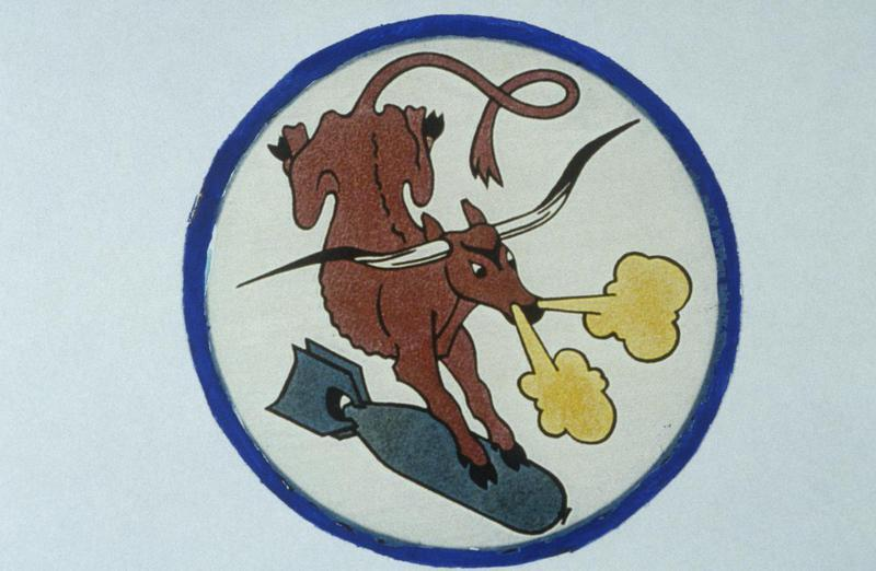 The insignia of the 567th Bomb Squadron, 389th Bomb Group.