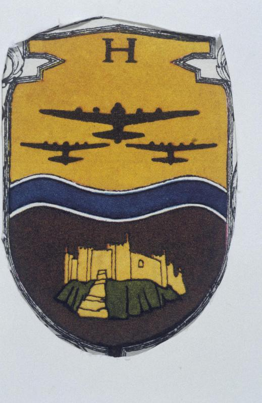 The insignia of the 390th Bomb Group.