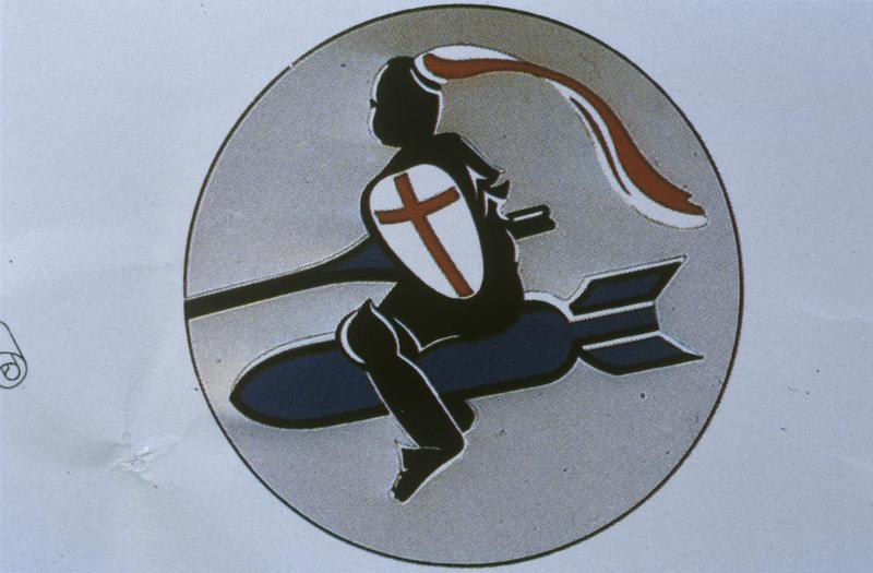The insignia of the 392nd Bomb Group.