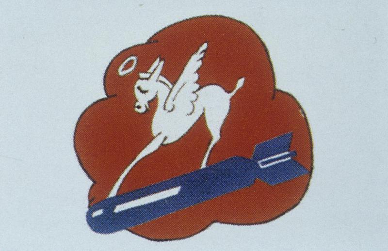 The insignia of the 700th Bomb Squadron, 445th Bomb Group.