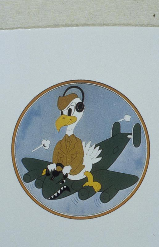 The insignia of the 701st Bomb Squadron, 445th Bomb Group.