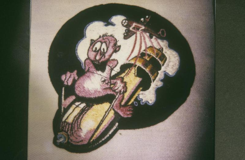 The insignia of the 702nd Bomb Squadron, 445th Bomb Group.