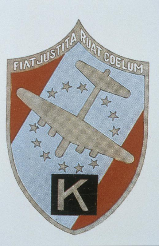 The insignia of the 447th Bomb Group.
