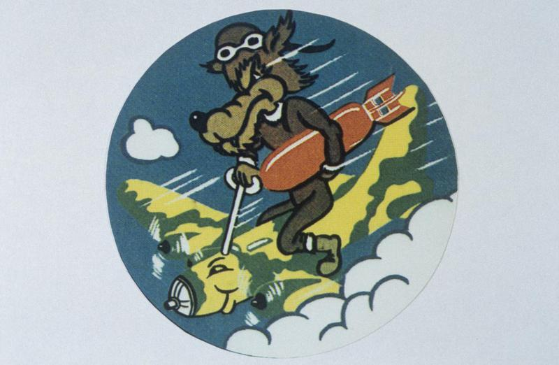 The insignia of the 729th Bomb Squadron, 452nd Bomb Group.