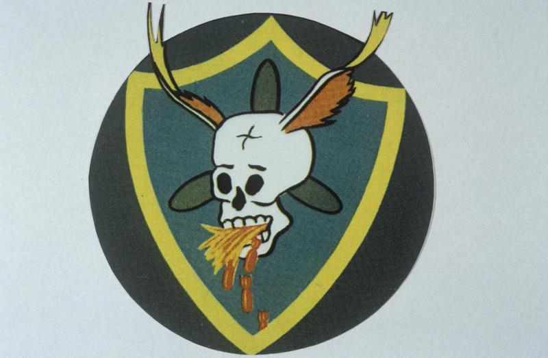 The insignia of the 730th Bomb Squadron, 452nd Bomb Group.