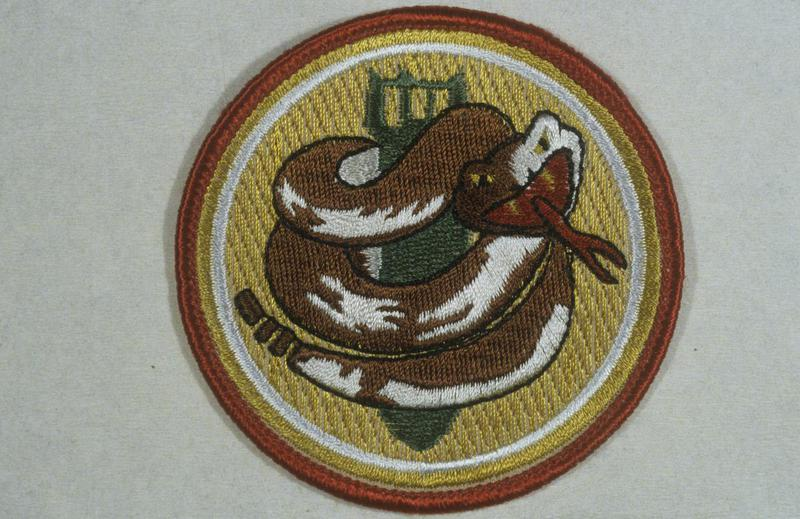 The insignia of the 750th Bomb Squadron, 457th Bomb Group.