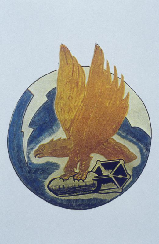 The insignia of the 752nd Bomb Squadron, 458th Bomb Group.
