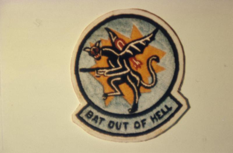 The insignia of the 832nd Bomb Squadron, 486th Bomb Group.
