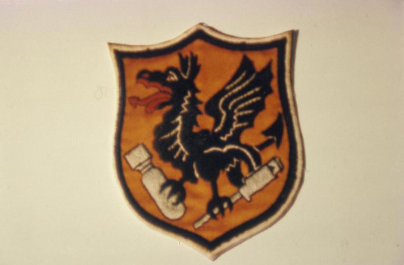 The insignia of the 833rd Bomb Squadron, 486th Bomb Group.