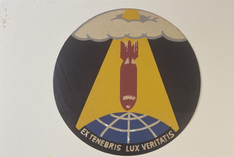 The insignia of the 489th Bomb Group.