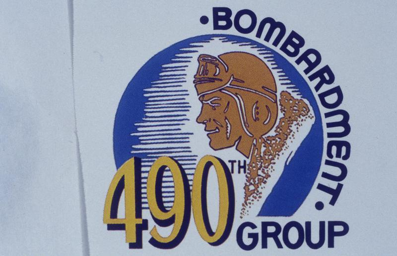 The insignia of the 490th Bomb Group.