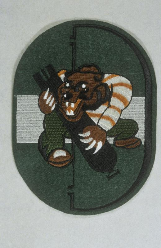 The insignia of the 853rd Bomb Squadron, 491st Bomb Group.