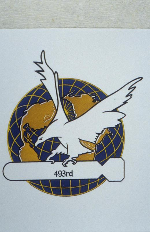 The insignia of the 493rd Bomb Group.