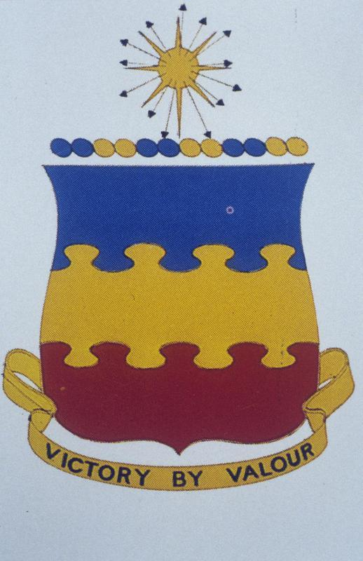 Insignia associated with the 20th Fighter Group of the 8th Air Force.