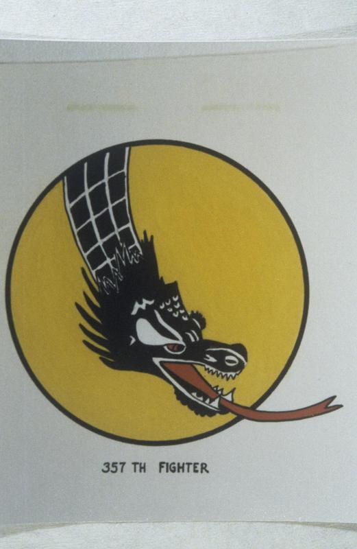 The insignia of the 357th Fighter Squadron, 355th Fighter Group.