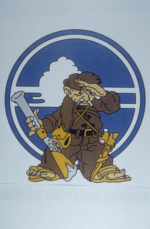The insignia of the 3rd Scouting Force, 8th Air Force.