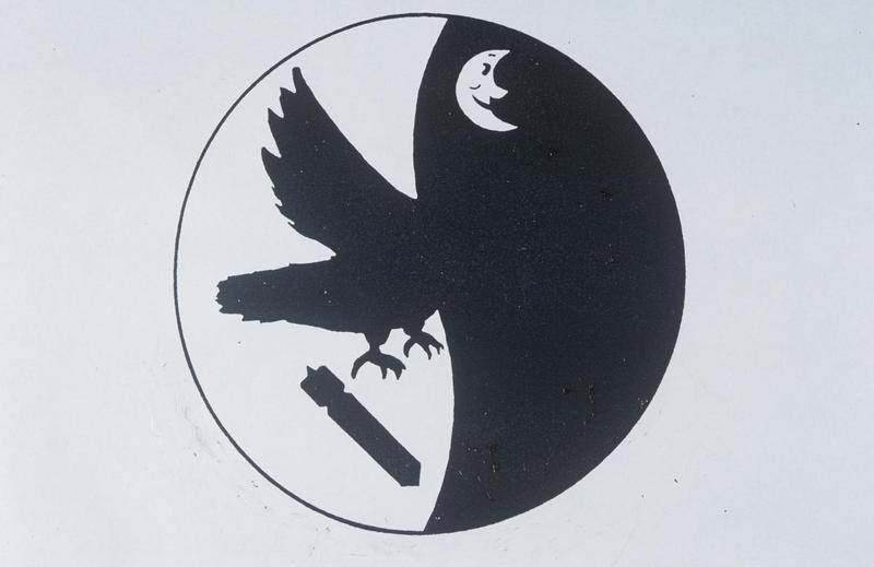 The unofficial insignia of the 406th Bomb Squadron.