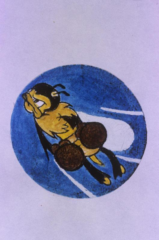 The insignia of the 22nd Fighter Squadron, 36th Fighter Group.