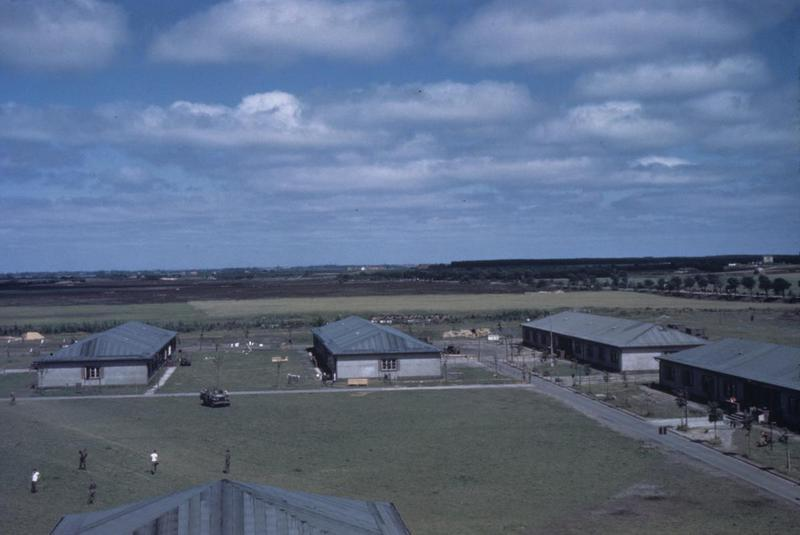 Crew buildings at Ashford, home of the 406th Fighter Group.