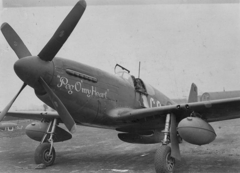 A P-51B Mustang (GQ-A, serial number 43-12173) nicknamed