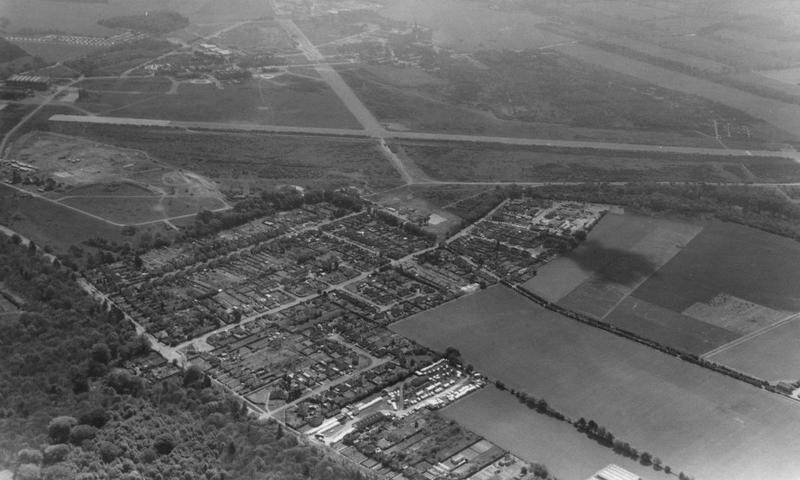 Martlesham Heath, the home of the 356th Fighter Group.