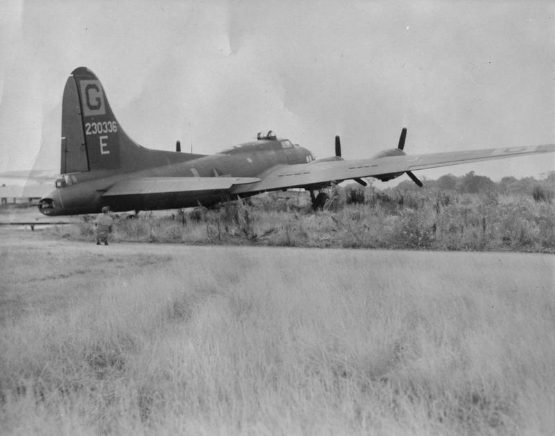 A B-17 Flying Fortress (serial number 42-30336