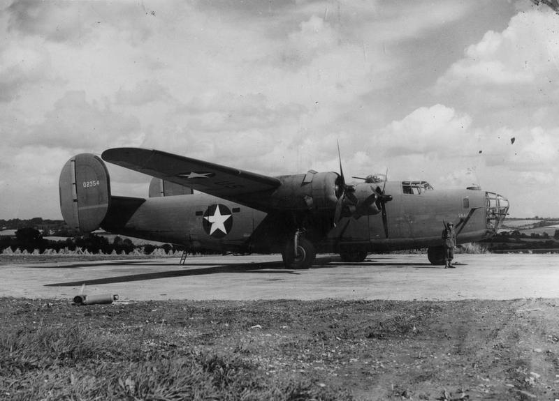 B-24D Liberator SN # 42-40354 - (also serial number #40-2354) -  nicknamed
