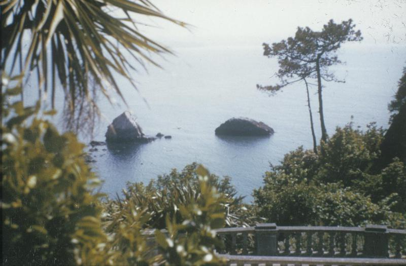 Torquay, 1945 Image by Robert Sand, 55th Fighter Group. Written on slide casing: 'Torquay, 4/45.' Associated caption from Sand File -