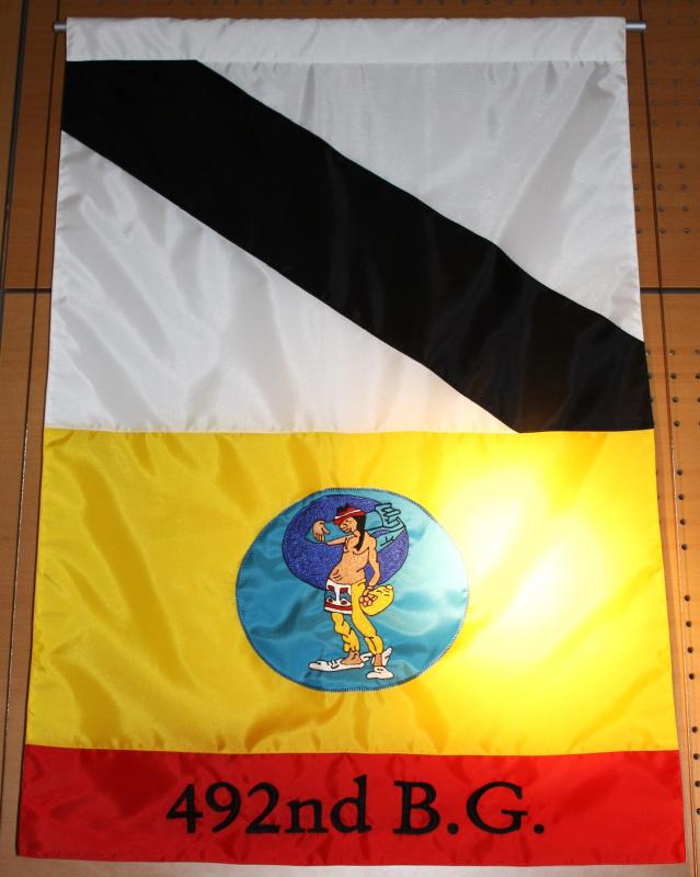 492nd Bomb Group flag, One of a collection of flags created for the
