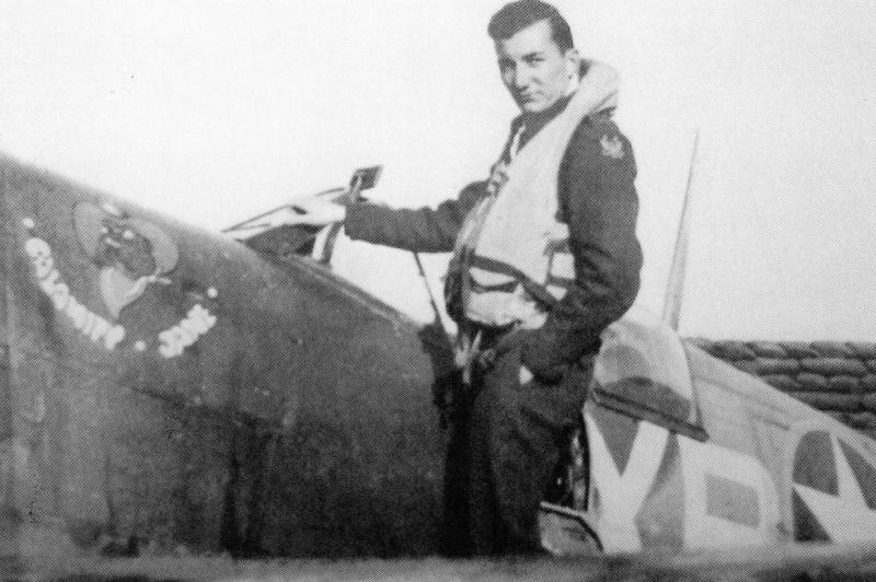 Captain Raymond C Care during his time with the 334th Fighter Squadron (XP).