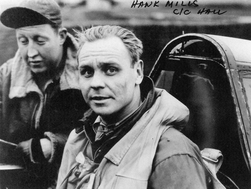 Major Henry L. Mills & his Crew Chief St/Sgt Dale Hall.